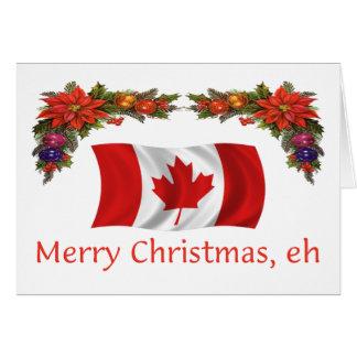 Canada Merry Christmas, eh Card