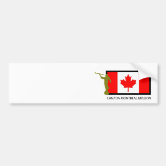 CANADA MONTREAL MISSION LDS CTR BUMPER STICKER