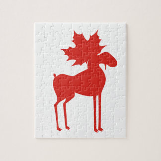 CANADA MOOSE JIGSAW PUZZLE