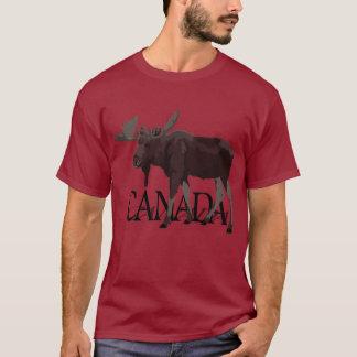 Canada Moose T-shirt Plus Size Canadian Souvenirs