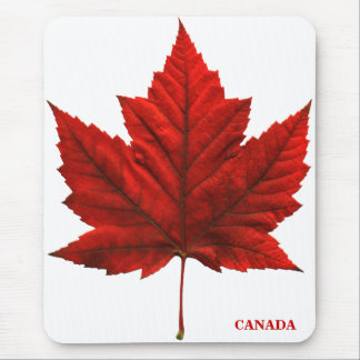 Canada Mousepad Red Canada Maple Leaf Mousepad