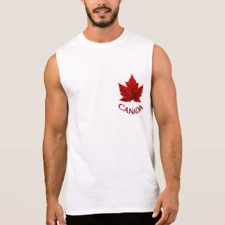 Canada Muscle Shirt Men's Canada Souvenir Tank Top