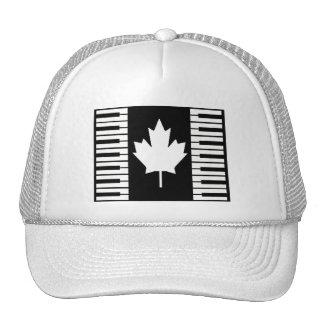 Canada Music Notes Cap