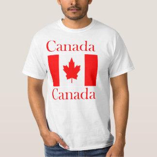 Canada Name Flag T-Shirt