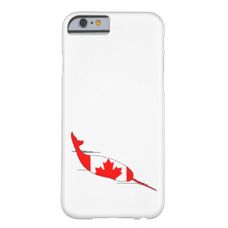 Canada Narwhal Barely There iPhone 6 Case