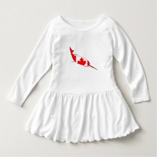 Canada Narwhal Dress