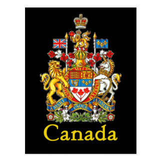 Canada National Seal Postcard