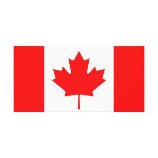 Canada National World Flag Canvas Print