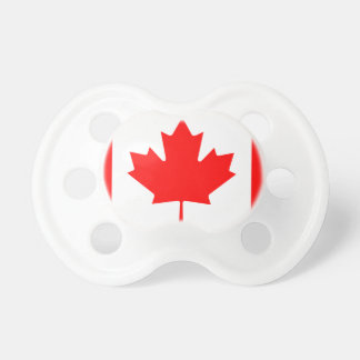 Canada National World Flag Pacifier