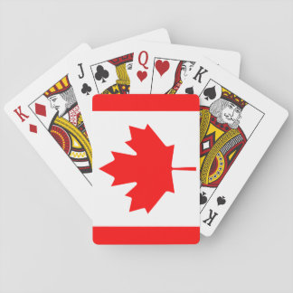 Canada National World Flag Playing Cards