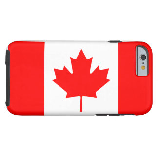 Canada National World Flag Tough iPhone 6 Case