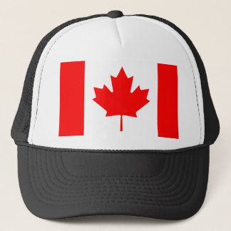 Canada National World Flag Trucker Hat