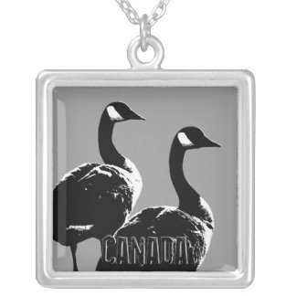 Canada Necklace Canada Goose Souvenir Jewelry