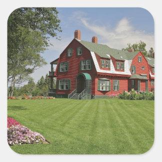Canada, New Brunswick, Campobello Island. Square Sticker