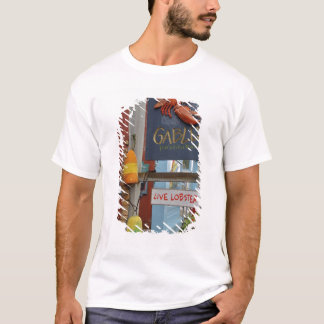 Canada, New Brunswick, St Andrews. Colorful T-Shirt