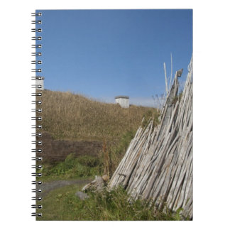 Canada, Newfoundland and Labrador, L'Anse Aux 2 Spiral Note Book