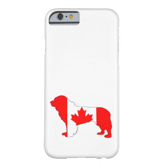 Canada Newfoundland Dog Barely There iPhone 6 Case