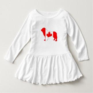 Canada Newfoundland Dog Dress