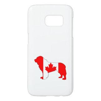 Canada Newfoundland Dog Samsung Galaxy S7 Case