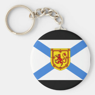 Canada Nova Scotia Flag Keychain