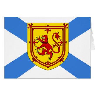 Canada Nova Scotia High quality Flag Greeting Card
