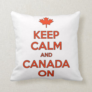 Canada On & Keep Clam Pillow