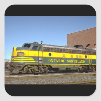 Canada, Ontario, Northland_Trains of the World Square Sticker