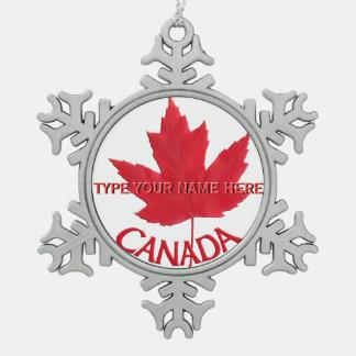Canada Ornament Personalized Canada Souvenir
