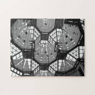 Canada Ottawa art gallery glass chandelier. Jigsaw Puzzle