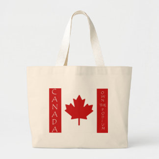 Canada Own The Podium Large Tote Bag