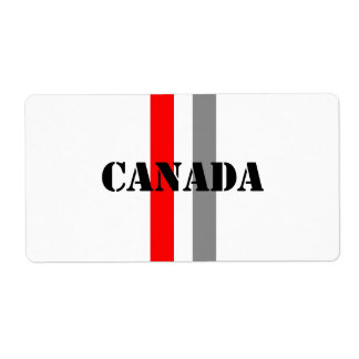 Canada Personalized Shipping Labels