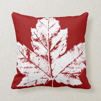 Canada Pillow Red Flag Leaf Throw Pillows & Decor