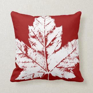 Canada Pillow Red Flag Leaf Throw Pillows & Decor