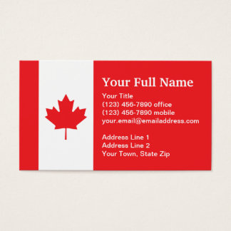Canadian business cards and business card templates for Business cards canada
