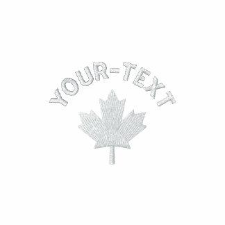 Canada Polo Shirt - White Canadian Maple Shirt
