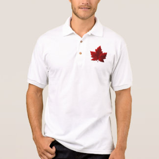 Canada Polo Shirts Canada Maple Leaf Golf Shirt