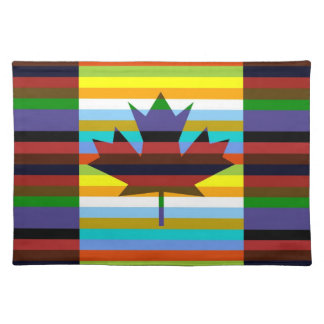 Canada Pop Art Place Mat