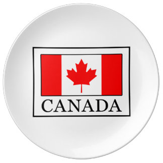 Canada Porcelain Plates