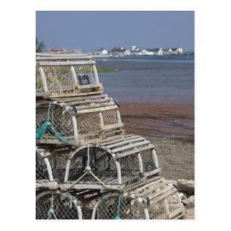 Canada, Prince Edward Island, Rustico. Lobster Postcard