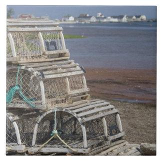 Canada, Prince Edward Island, Rustico. Lobster Tile