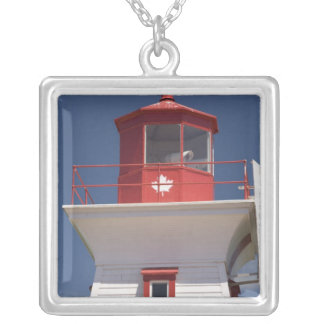 Canada, Prince Edward Island, Victoria. Silver Plated Necklace