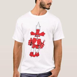 Canada Proud Hockey Player T-Shirt