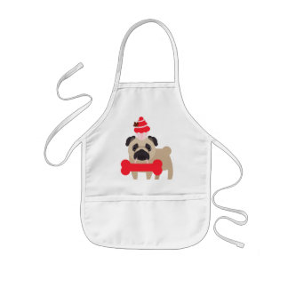 Canada Pug Tees, Gifts CUSTOMIZE Kids Apron