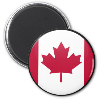 Canada quality Flag Circle Magnet