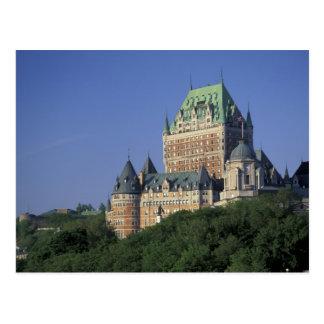 Canada, Quebec City.  Chateau Frontenac. Postcard