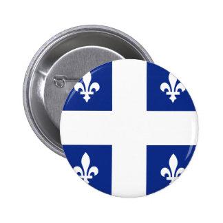 Canada Quebec High quality Flag 2 Inch Round Button