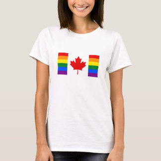 Canada Rainbow Flag T-Shirt