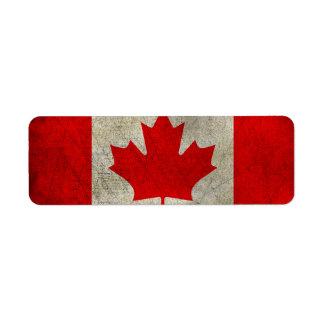 Canada Return Address Label