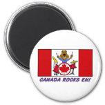 Canada Rocks eh! Refrigerator Magnets