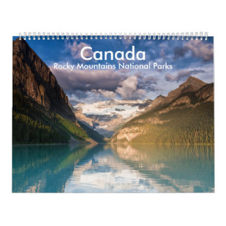 Canada - Rocky Mountains National Parks calender Wall Calendars